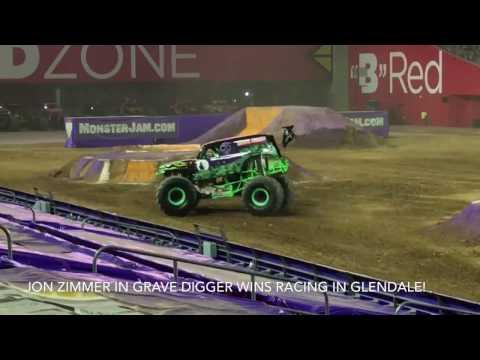 Monster Jam Glendale Racing 10/8/16