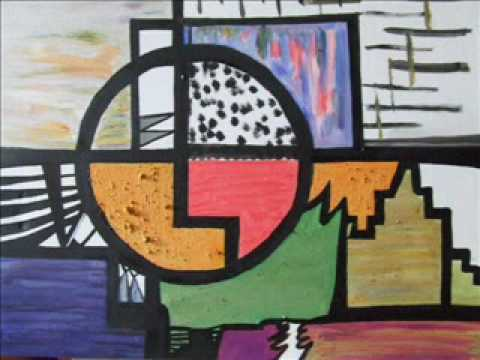 Abstract Musical Paintings By Contemporary Artist Anna Meenaghan .wmv