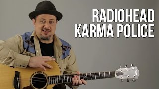 How To Play Radiohead - Karma Police