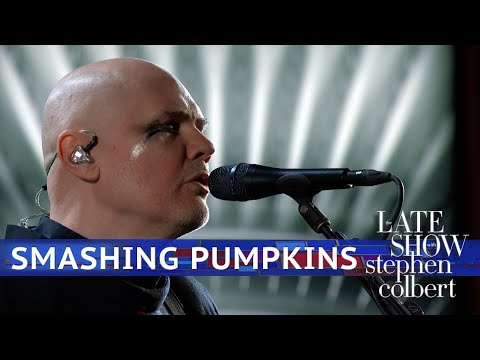SHROOM - Smashing Pumpkins Perform On Late Show With Stephen Colbert [Video]
