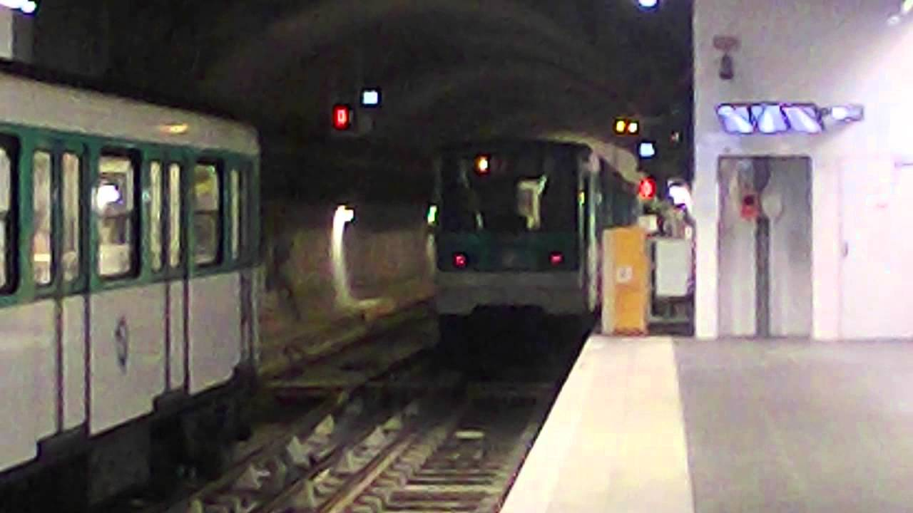 m tro ratp mf67 ligne 12 aubervilliers front populaire youtube. Black Bedroom Furniture Sets. Home Design Ideas