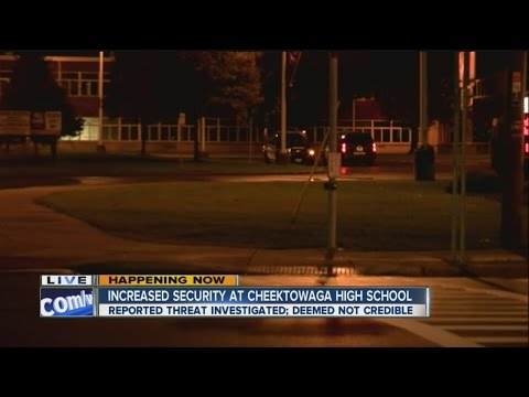 Increased security at Cheektowaga High School