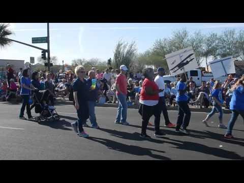 Gateway Polytechnic Academy float in Feb. 27 Lost Dutchman Days parade