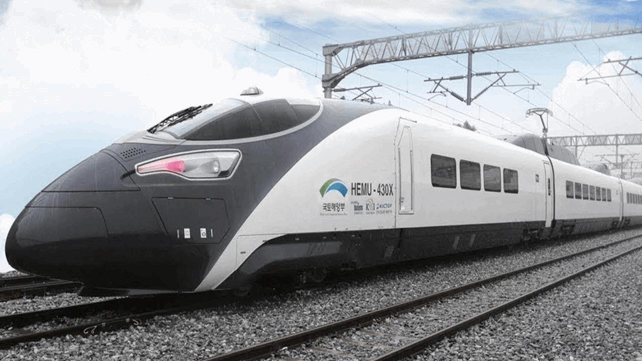 high speed korea bullet train - YouTube