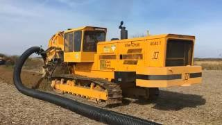 Inter-Drain 4045T Chain Trencher 10 Inch Install