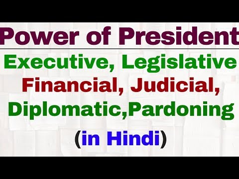 Powers and functions of President of India in hindi | Indian polity by Lakshmikant | IAS | SSC CGL