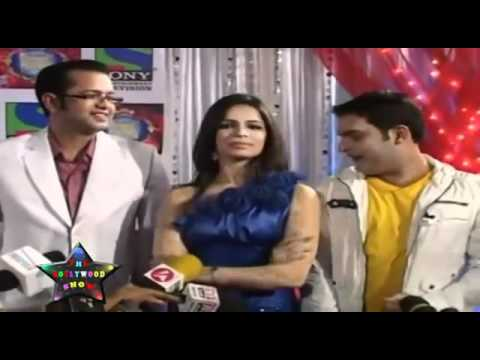 Very Sexy Shikha Singh   Rahul Mahajan, Kapil Sharma At Comedy Circus - YouTube.rv