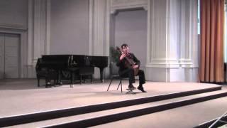 III. Toccata de Pasquini, from Sonata (1990) by Leo Brouwer