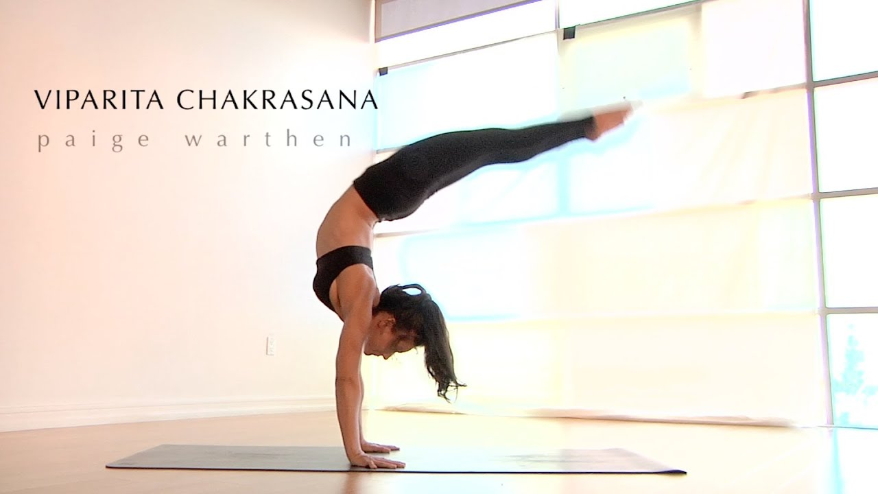Ashtanga Yoga: Mind + Body Episode 12 - Viparita Chakrasana - YouTube