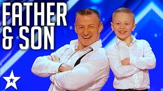 Father & Son Act Danylo & Oskar on America's Got Talent 2017