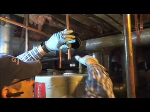 gas water heater replacement from start to finish part 1 of 2