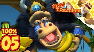 Donkey Kong Country Tropical Freeze Nintendo Switch   World 3: 100% NO DEATHS [Part 2]