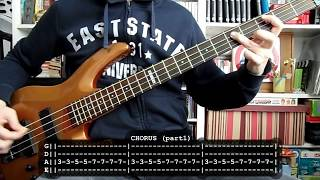 BAD RELIGION - Do what you want (bass cover w/ Tabs)