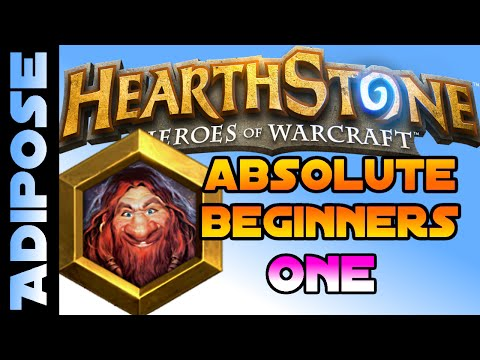 Absolute Beginners Hearthstone Tutorial #1 Minions, Spells and Efficient Trading