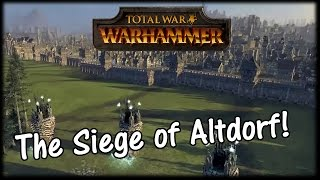 Total War WARHAMMER - Siege of Altdorf Gameplay - Are Sieges becoming Linear?!
