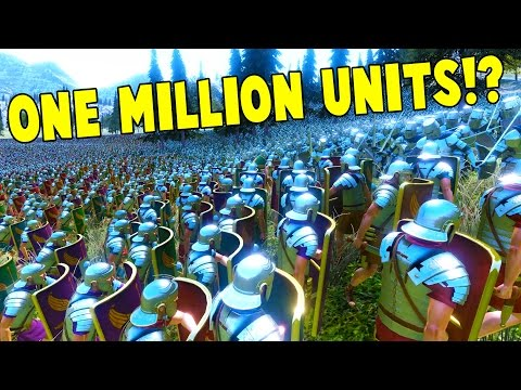 UEBS - 1 MILLION UNITS?! HUGE BATTLE SIMULATIONS! - Ultimate Epic Battle Simulator Gameplay