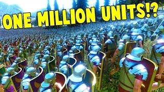 UEBS - 1 MILLION UNITS?! HUGE BATTLE SIMULATIONS! - Ultimate Epic Battle Simulator Gameplay