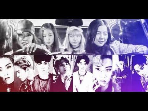 EXO show their love to Blackpink Part 7