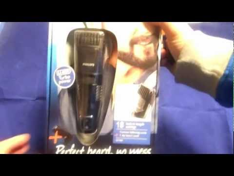 philips qt4090 vacuum beard and stubble trimmer pro unboxing youtube. Black Bedroom Furniture Sets. Home Design Ideas