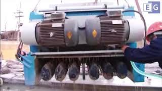 Оборудование для производства бетонных предварительно-напряженных пустотных плит