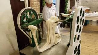 Download Making Saltwater Taffy at La King's Confectionery on the Historic Strand in Galveston, Texas Mp3 and Videos