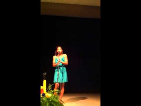 Cassidy Allen Singing Stay by Rihanna (Full)