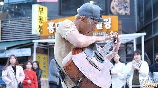 정선호 Sunho Jung Big Blue Ocean Kotaro Oshio 180330 홍대 거리공연 직캠 By SSoLEE