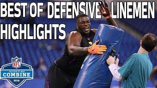 Best of Defensive Linemen Workouts! | NFL Combine Highlights