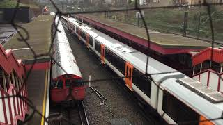 London Overground class 710 Aventra departs Kensal Green.