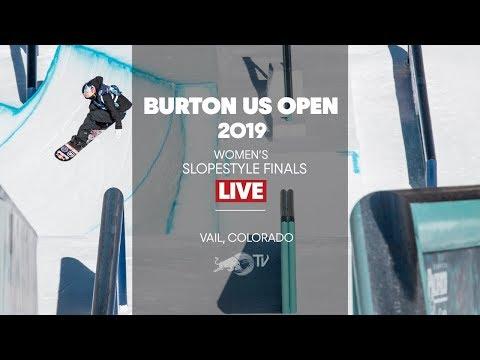 FULL SHOW - Burton US Open Women's Slopestyle Finals