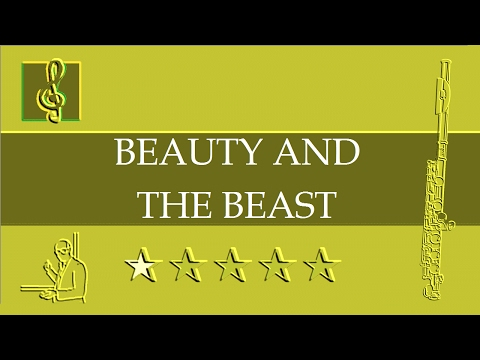 Flute Notes Tutorial - Beauty And The Beast - Disney (Sheet Music)