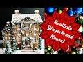 Artisan Gingerbread House Decorating Timelapse