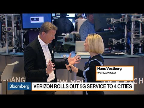 Verizon CEO on Rolling Out 5G Service to Four Cities