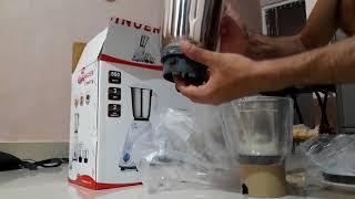 Singer Cheffy mixer grinder unboxing