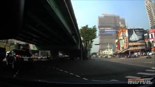 20161114台灣大道黎明路機車闖紅燈車禍