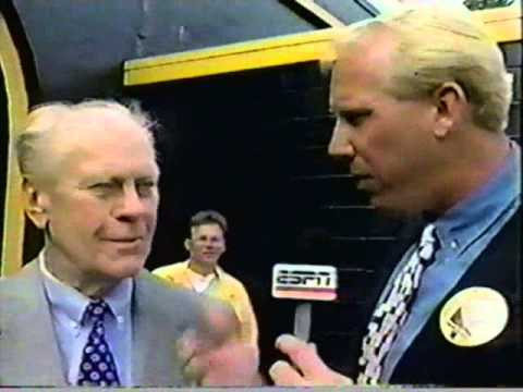 Gerald Ford interview - 1994 UM/MSU