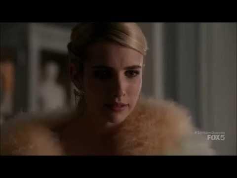 Scream Queens 1x08 - Grace slaps Chanel