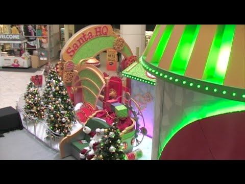 HGTV Presents Santa HQ - Santa Claus Has Arrived! - Christmas News 2014