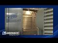 Greenheck Louvers - AMCA 500-L Water Penetration vs. Wind Driven Rain Test