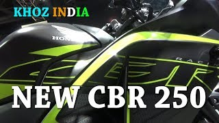 NEW HONDA CBR 250 PRICE/FEATURES/COLORS