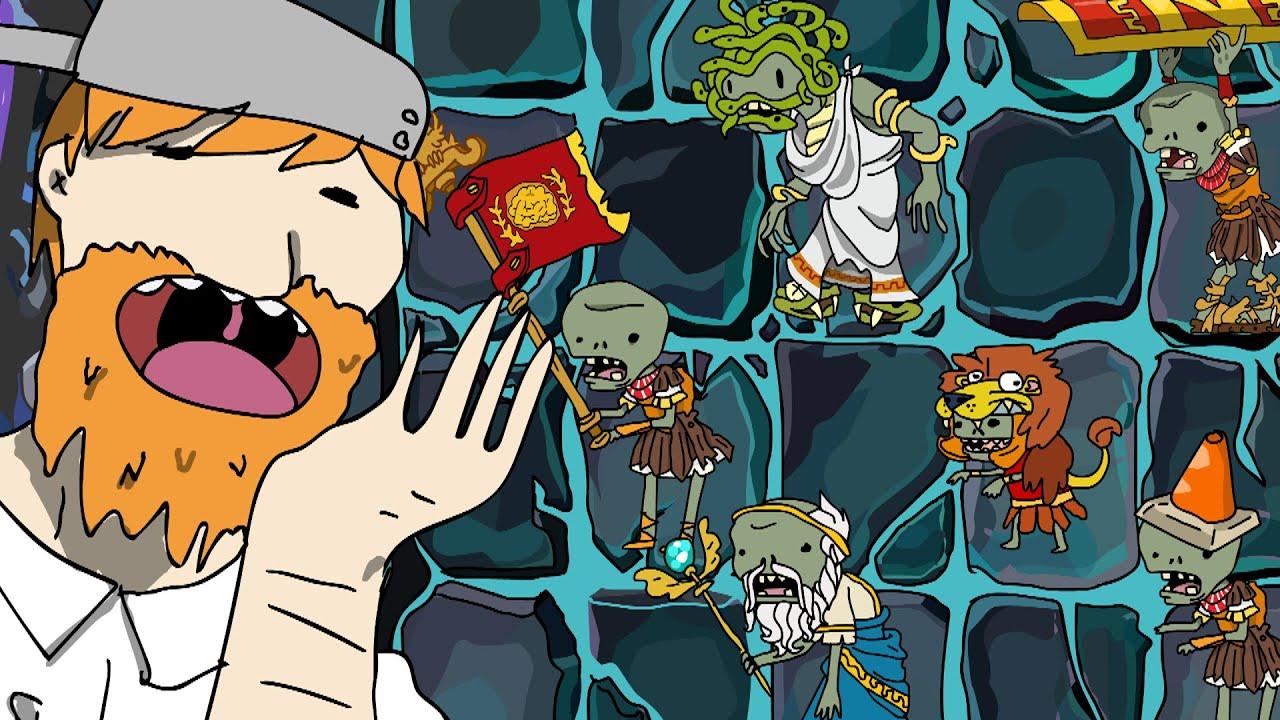 Plants vs Zombies 2 Animation Penny's Pursuit Roman Zombies