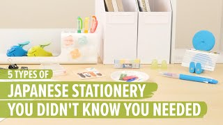 5 Types of Japanese Stationery You Didn