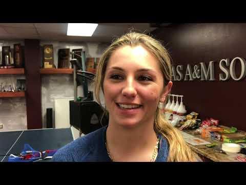 Softball: Houston/BC Postgame   Jo Evans, Sarah Hudek, Keeli Milligan 2.9.18