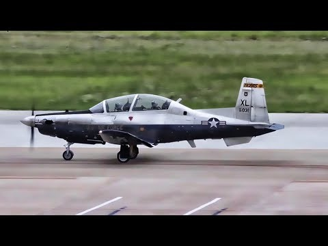 USAF Pilot Training • T-6A Texan II Touch & Go Landings
