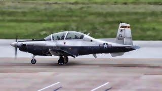 USAF Pilot Training • T-6A Texan II Touch & Go Landings