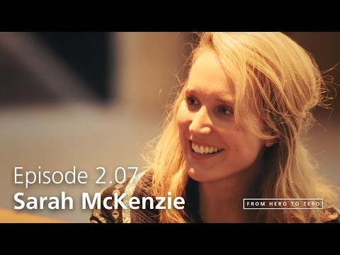 EPISODE 2.07: Sarah McKenzie on music niches, being old-fashioned, and albums as a world [#FHTZ]