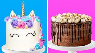 22 AWESOME CAKE DECORATION IDEAS  5-Minute Food Decor Hacks!