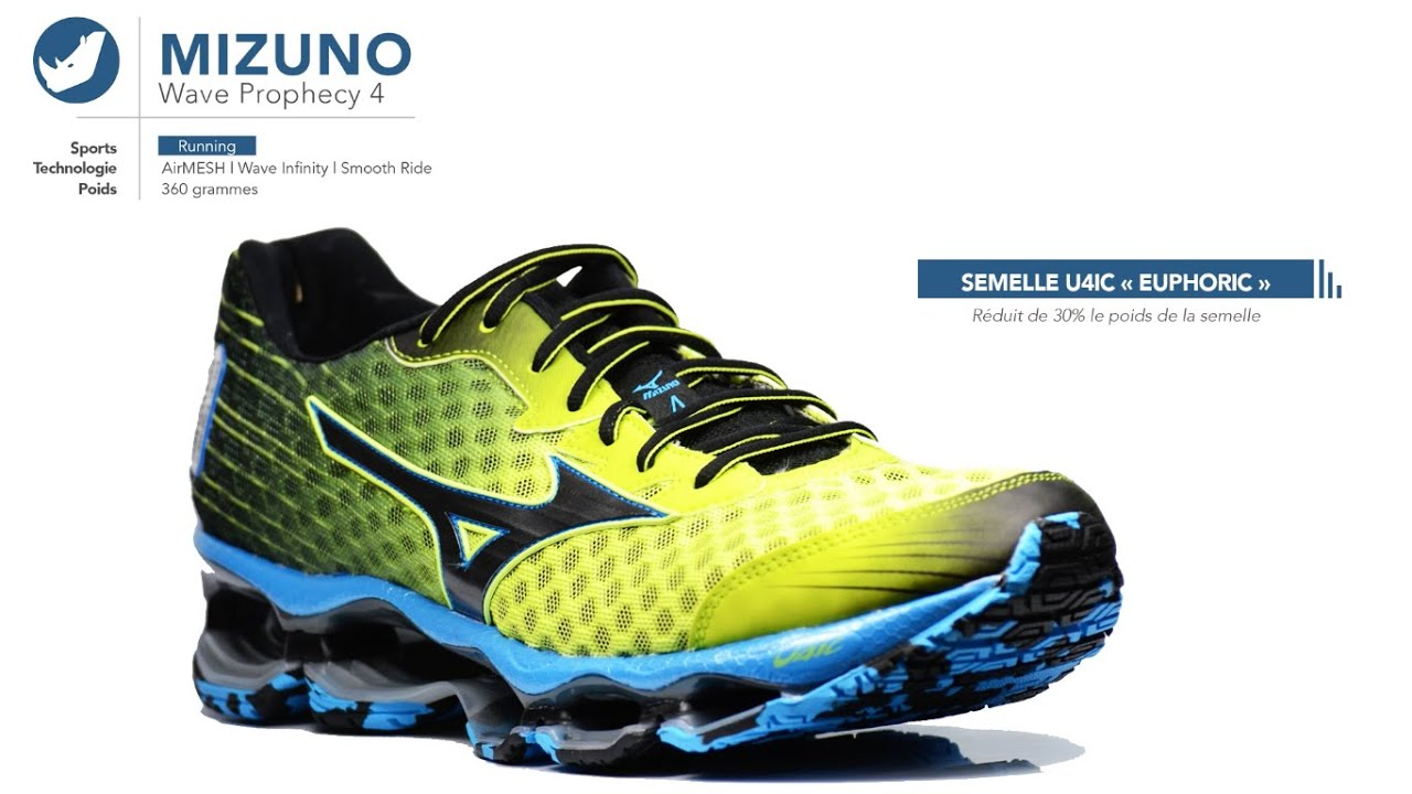 reputable site cf6c3 3be7e Chaussures de running   Mizuno - Wave Prophecy 4   Homme