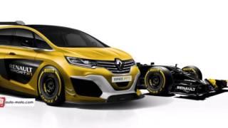 Insolite – Renault Espace F1 2016 – hommage au concept de 1994