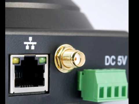 Camara de Vigilancia Inalámbrica IP con Vision Nocturna Detección de Movimiento y más